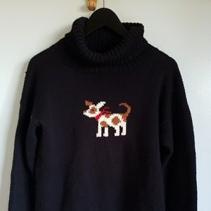 Planet Earth Imports Sweaters - Terrier dog turtleneck sweater